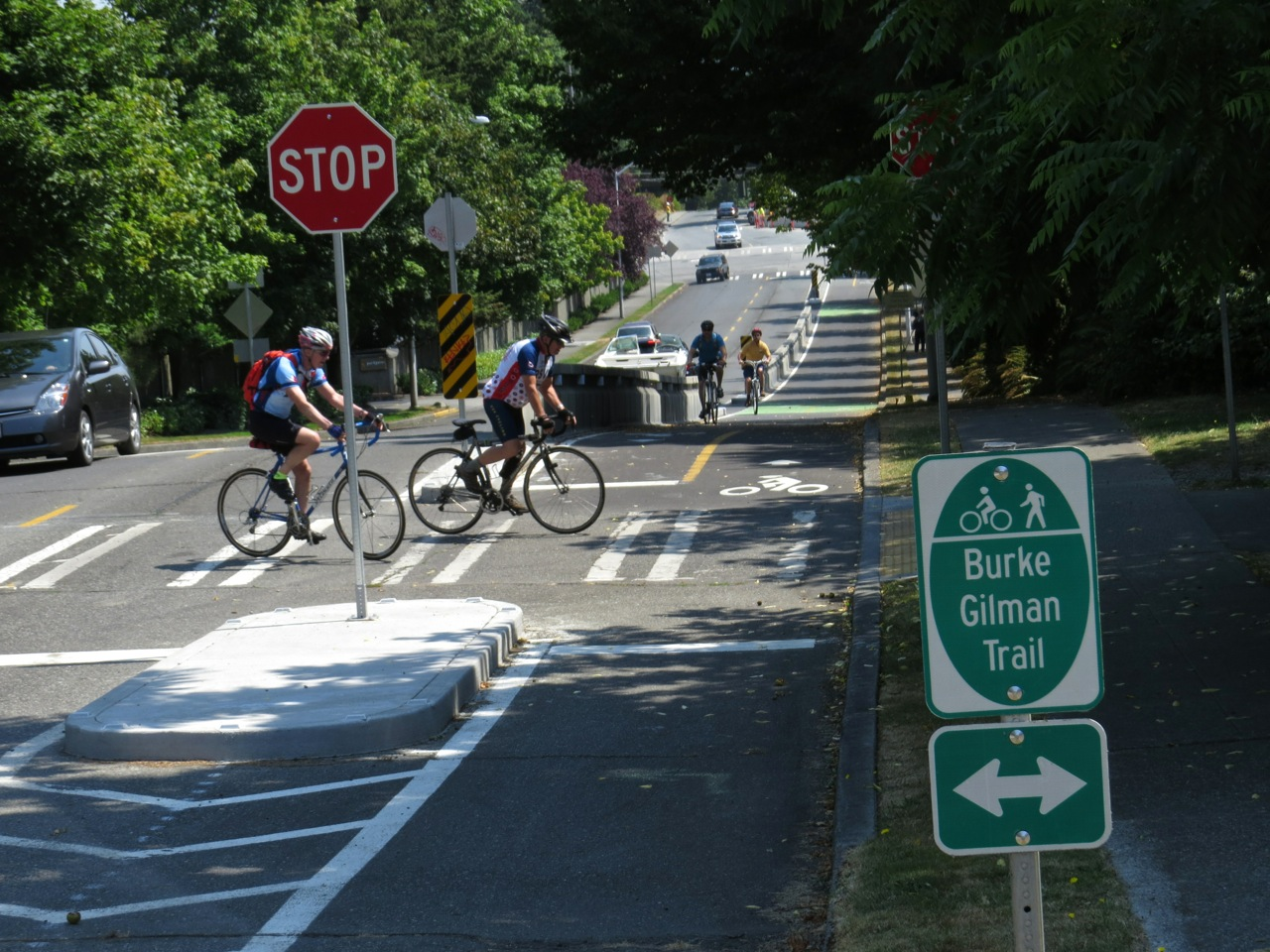 Bicycling  in the Puget Sound Region